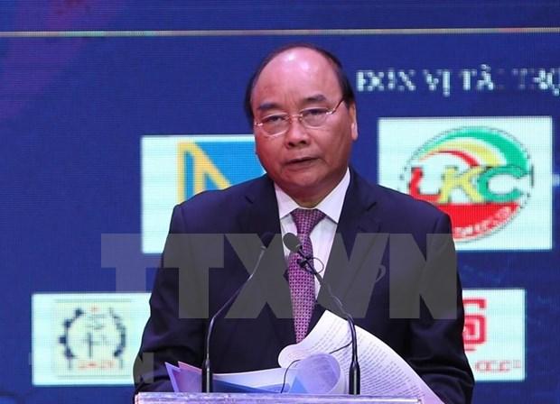 Premier vietnamita resalta aportes de empresarios al desarrollo nacional hinh anh 1