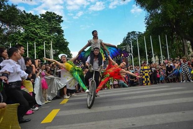 Participaran nueve paises en Festival Internacional de Circo 2019 en Hanoi hinh anh 1