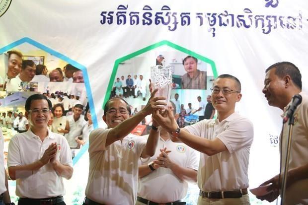 Celebran encuentro anual de camboyanos graduados en Vietnam hinh anh 1