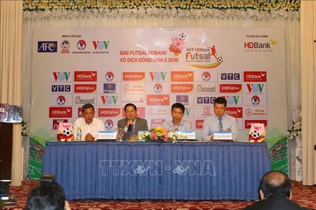 Celebraran en Vietnam Campeonato regional de Futbol Sala hinh anh 1