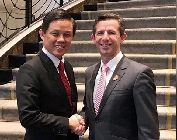 Inician Singapur y Australia negociaciones sobre acuerdo de economia digital hinh anh 1