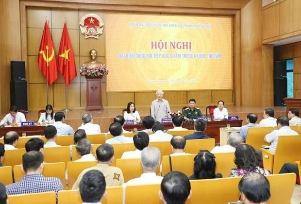 Destaca maximo dirigente de Vietnam importancia de la participacion del pueblo en la lucha anticorrupcion hinh anh 1