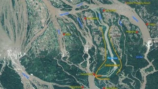 Ponen a prueba en Laos importante proyecto hidroelectrico hinh anh 1
