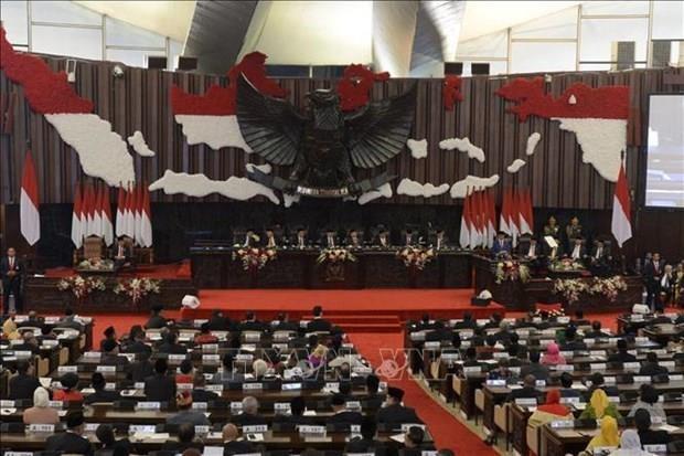 Felicita Vietnam a nuevos lideres legislativos de Indonesia hinh anh 1