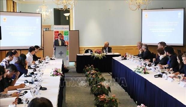 Realizan en Vietnam seminario sobre reforma del sistema de desarrollo de ONU hinh anh 1