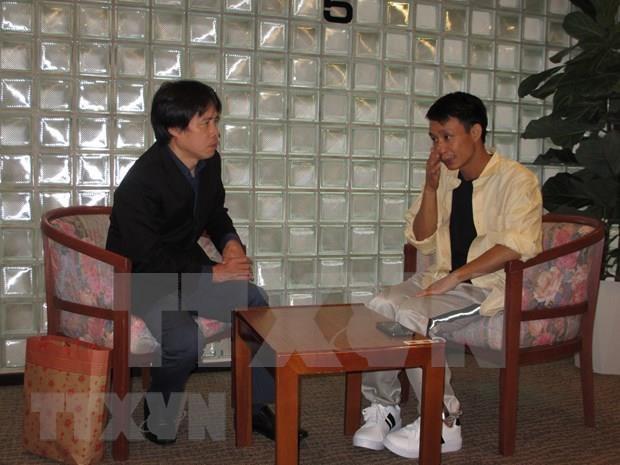 Prestan asistencia a marinero vietnamita victima de un naufragio en Japon hinh anh 1