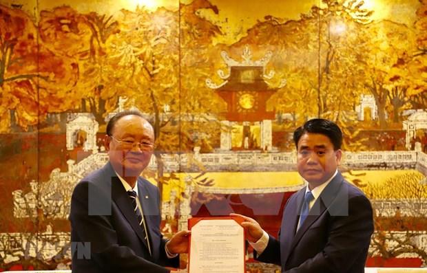 Autoriza el Gobierno de Hanoi la construccion del primer hipodromo de Vietnam hinh anh 1