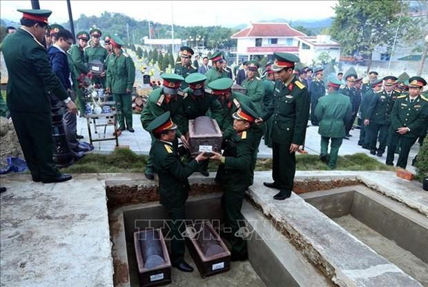 Intensifican esfuerzos para repatriacion de restos de combatientes vietnamitas caidos en Camboya hinh anh 1