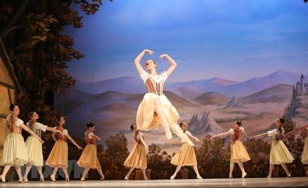 Pondran en escena en Vietnam el ballet clasico mundial Giselle hinh anh 1