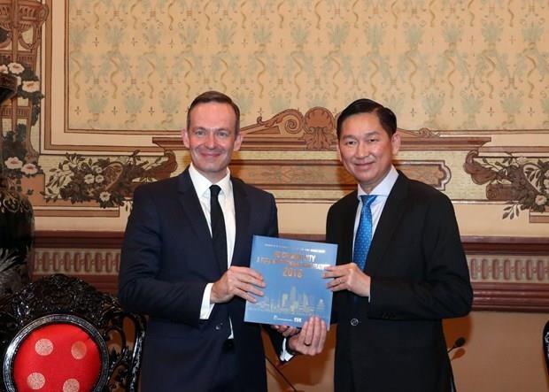 Promueve Ciudad Ho Chi Minh cooperacion con Alemania en agricultura de alta tecnologia hinh anh 1