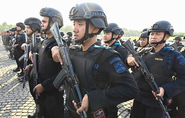 Frustran en Indonesia planes de atentados terroristas durante toma de posesion del Presidente hinh anh 1