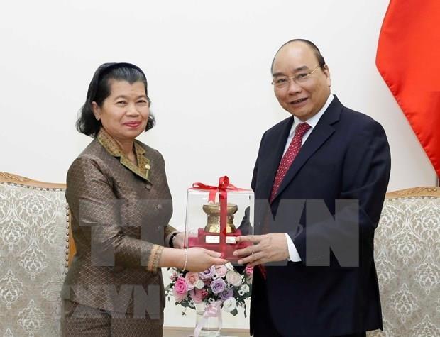 Reitera premier vietnamita respaldo a Camboya en formacion del personal de inspeccion hinh anh 1