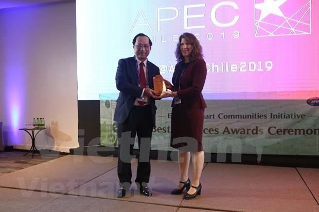Gana Vietnam plata en Premio de Mejores Practicas del APEC hinh anh 1