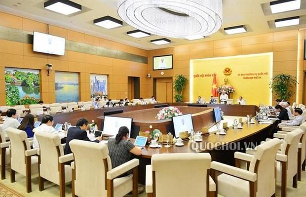 Concluye reunion 38 del Comite Permanente del Parlamento vietnamita hinh anh 1