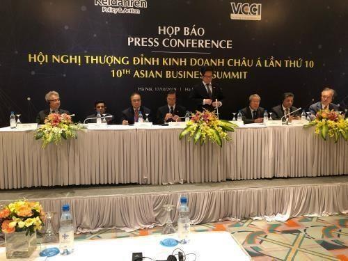 Acuerda comunidad empresarial de Asia la superconectividad para el desarrollo sostenible hinh anh 1