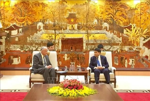 Hanoi dara la bienvenida al presidente de Iglesia de Jesucristo de los Santos de los Ultimos Dias hinh anh 1