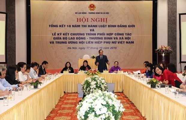 Proyectan en Vietnam impulsar el empoderamiento de las mujeres hinh anh 1