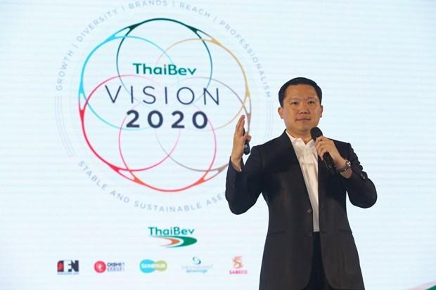 Se empena mayor compania de bebidas de Tailandia por convertirse en lider del mercado de ASEAN hinh anh 1