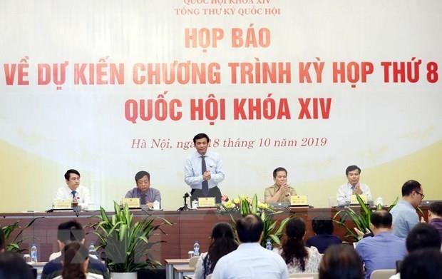 Inciara proximamente Parlamento de Vietnam octavo periodo de sesiones hinh anh 1