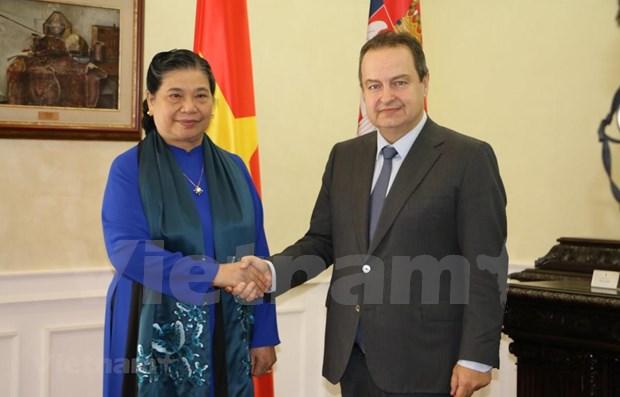 Concluye Vietnam su activa participacion en la Asamblea 141 de la UIP hinh anh 1