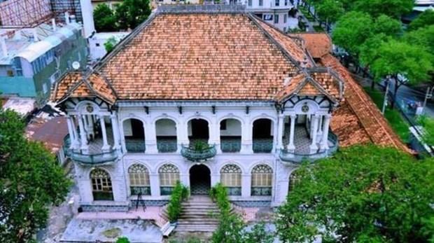 Ciudad Ho Chi Minh se empena en preservar villas coloniales antiguas hinh anh 1