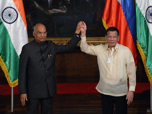 Firman la India y Filipinas acuerdos de cooperacion en seguridad maritima hinh anh 1