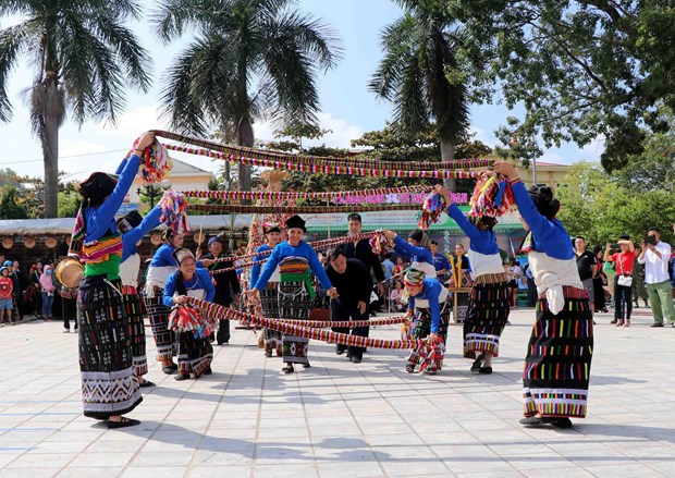 Inauguran segundo festival cultural de etnia Thai en Dien Bien hinh anh 1