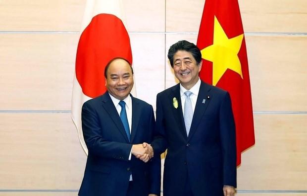 Asistira primer ministro vietnamita a ceremonia de coronacion del emperador japones hinh anh 1