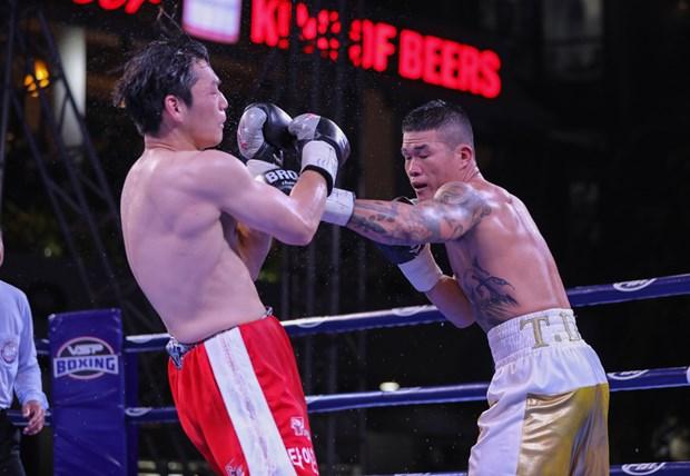 Obtiene boxeador vietnamita cinturon de campeon regional de WBA hinh anh 1
