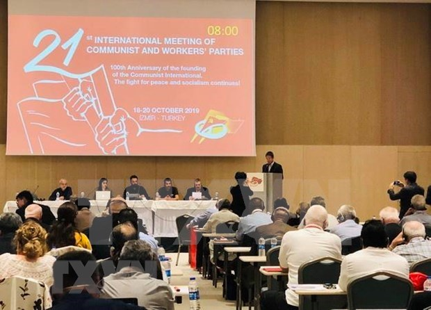 Comprometido Vietnam a fortalecer nexos con partidos comunistas y obreros hinh anh 1