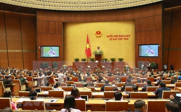 Inauguran octavo periodo de sesiones de Asamblea Nacional de Vietnam hinh anh 1