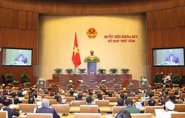 Concluye Parlamento de Vietnam primera jornada de su octavo periodo de sesiones hinh anh 1