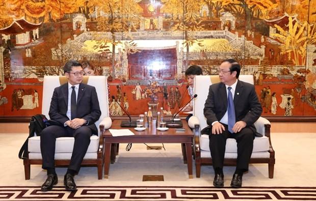 Promueve Hanoi cooperacion con prefectura japonesa hinh anh 1