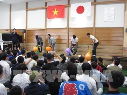 Realizan en Japon festival de aprendices e ingenieros vietnamitas hinh anh 1