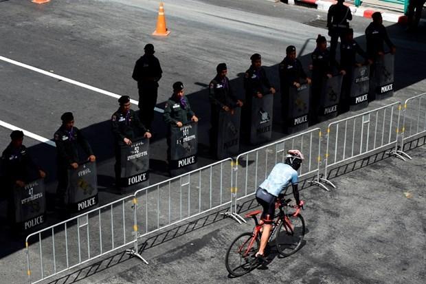 Refuerza Tailandia seguridad para cumbre de la ASEAN hinh anh 1