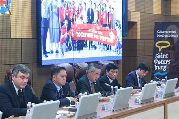 Estudian empresas vietnamitas potencialidades de cooperacion turistica con Rusia hinh anh 1