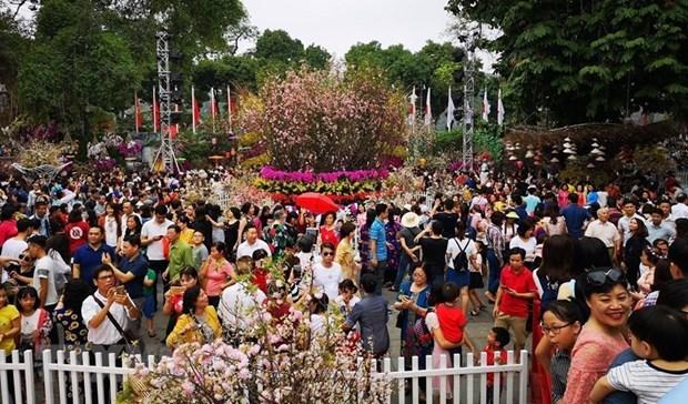 Incluira un amplio programa artistico el V Festival de Sakura en Hanoi hinh anh 1