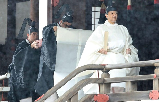 Participa primer ministro vietnamita en entronizacion del emperador japones hinh anh 1