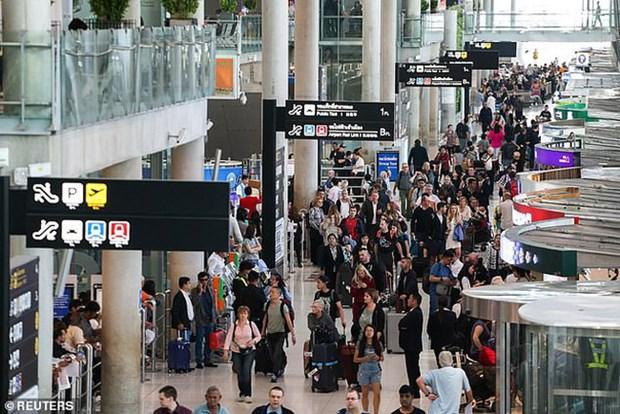 Acelera Tailandia proyecto de aeropuerto inteligente hinh anh 1