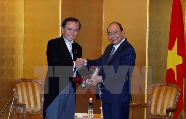 Primer ministro de Vietnam aboga por intensificar lazos con prefectura japonesa hinh anh 1