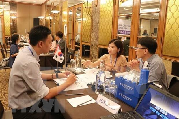 Realizan conferencia de promocion comercial de Corea del Sur en Ciudad Ho Chi Minh hinh anh 1