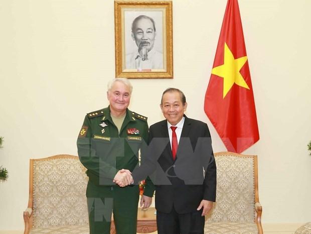 Vietnam apoya a Rusia en incorporacion a mecanismos de seguridad regionales hinh anh 1