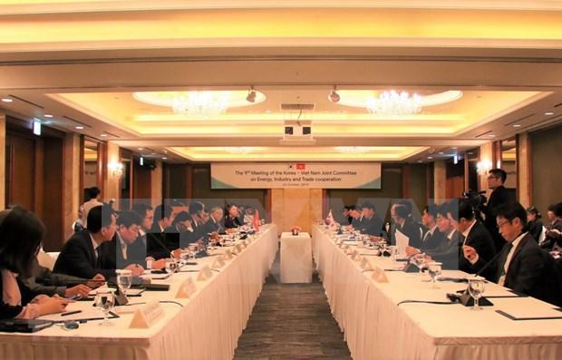 Impulsan Vietnam y Corea del Sur cooperacion en energia, industria y comercio hinh anh 1