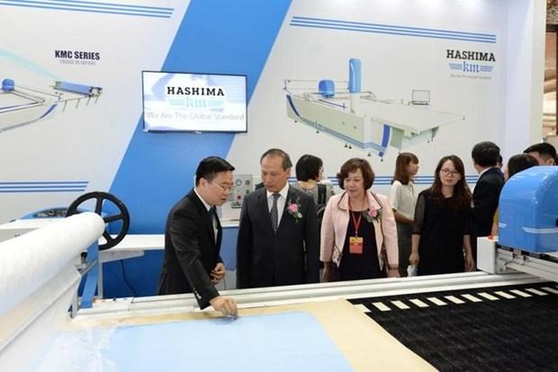 Inauguran Exposicion internacional de la industria textiles y confecciones hinh anh 1
