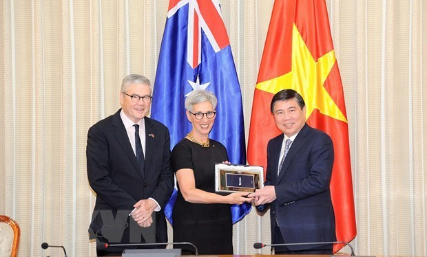 Estado australiano de Victoria abrira su Oficina de inversion y comercio en Ciudad Ho Chi Minh hinh anh 1