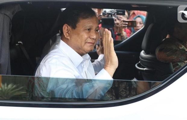 Nombra presidente de Indonesia a su rival electoral ministro de Defensa hinh anh 1
