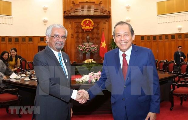 ONU es prioridad en politica exterior de Vietnam, afirma vicepremier permanente hinh anh 1
