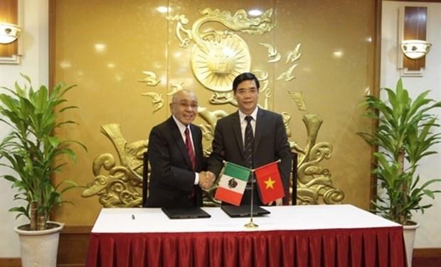 Impulsan Vietnam y Mexico cooperacion en sectores agricola y acuicola hinh anh 1