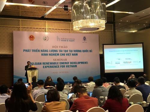 Vietnam adquiere experiencias europeas en el desarrollo de energias renovables hinh anh 1