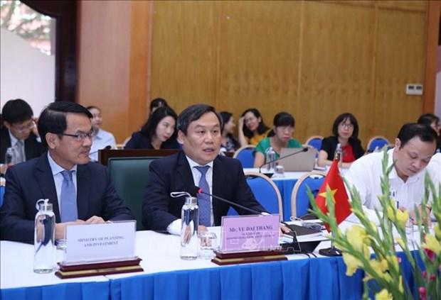 Vietnam y Corea del Sur discuten medidas de promover lazos economicos hinh anh 1